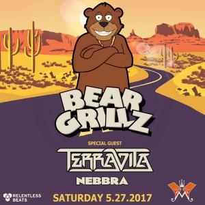 Bear Grillz + Terravita + Nebbra on 05/27/17