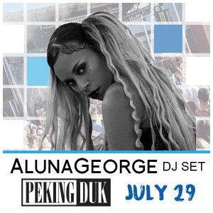AlunaGeorge (DJ Set) + Peking Duk at Release Pool Party on 07/29/17