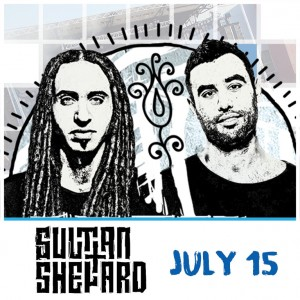 Sultan + Shepard at Release Pool Party on 07/15/17