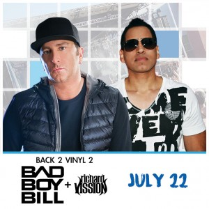 Back To Vinyl 2: Bad Boy Bill & Richard Vission at Release Pool Party on 07/22/17