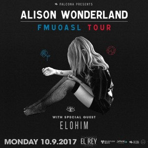 Alison Wonderland - Albuquerque on 10/09/17