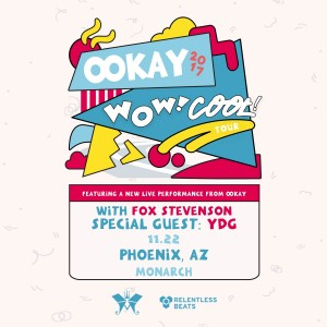 Ookay (Live) on 11/22/17