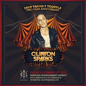 Clinton Sparks on 11/03/17