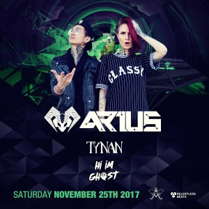 Arius, Tynan, & Hi I'm Ghost on 11/25/17