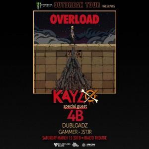 Monster Outbreak Tour Presents: Kayzo - Overload Tour, Tucson on 03/15/18