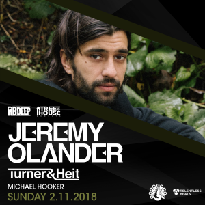 Jeremy Olander at TreeHouse Sundays on 02/11/18