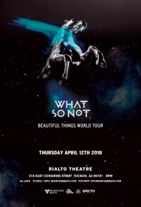 What So Not on 04/12/18