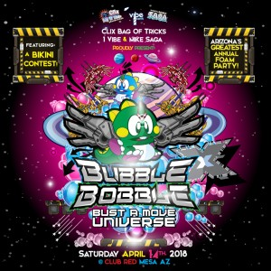 Bubble Bobble X on 04/14/18