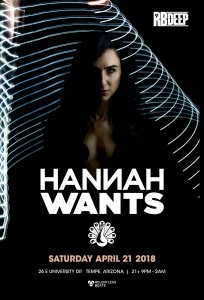 Hannah Wants on 04/21/18