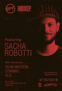 Sacha Robotti at BFF on 03/16/18