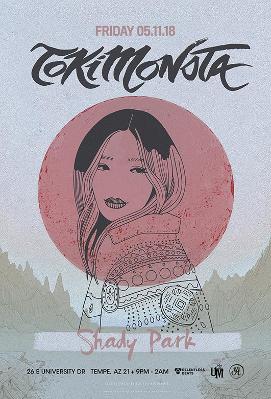 Flyer for Tokimonsta