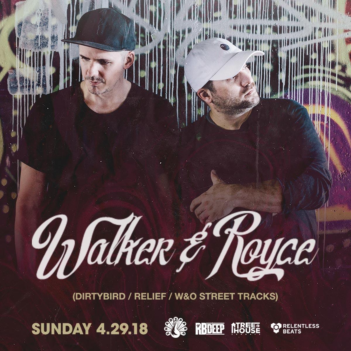 Flyer for Walker & Royce