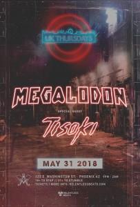 Megalodon + Tisoki on 05/31/18