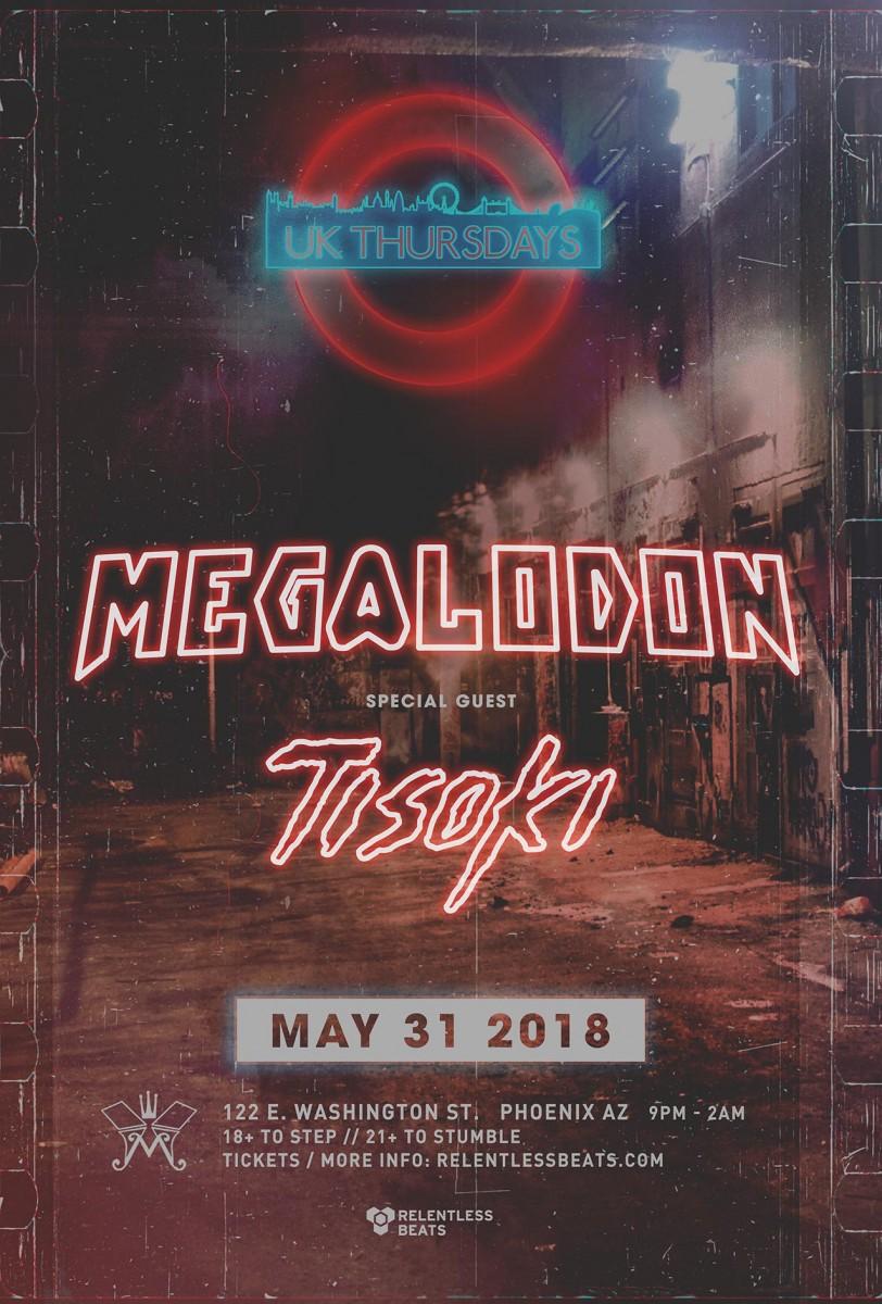 Flyer for Megalodon + Tisoki