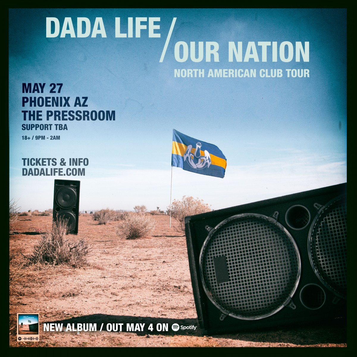 Flyer for Dada Life