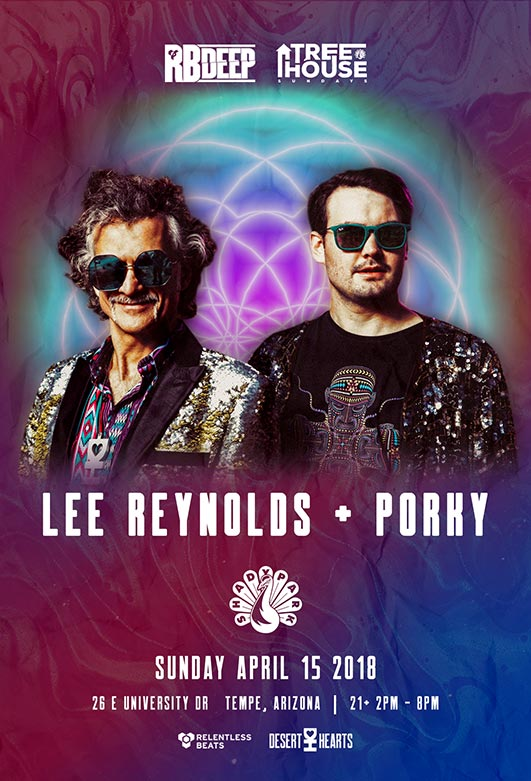 Flyer for Lee Reynolds + Porky