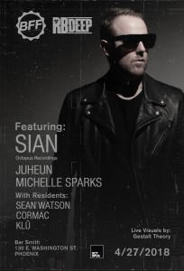 Sian at BFF on 04/27/18