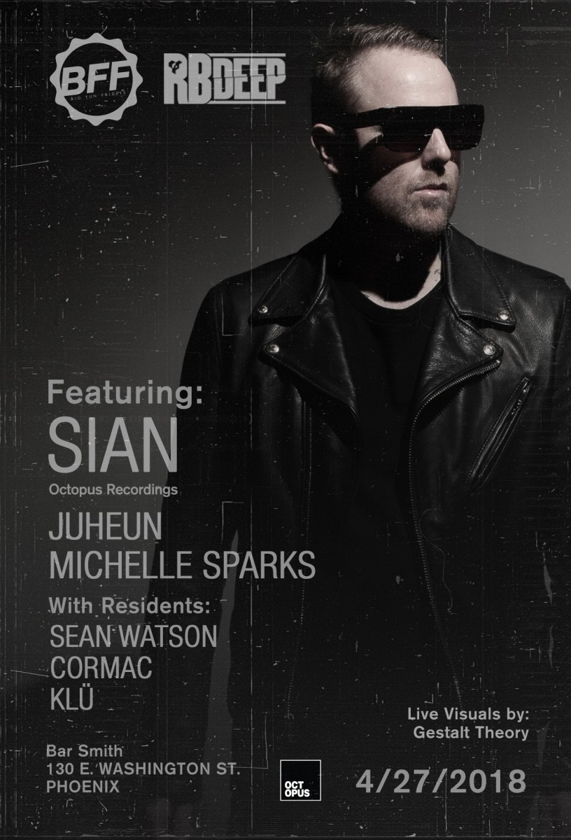 Flyer for Sian at BFF