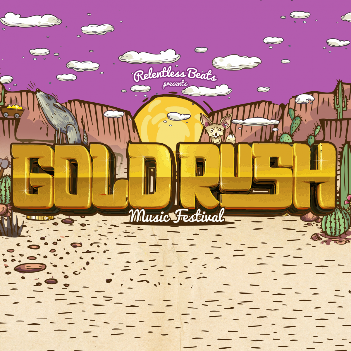 Flyer for Goldrush 2018