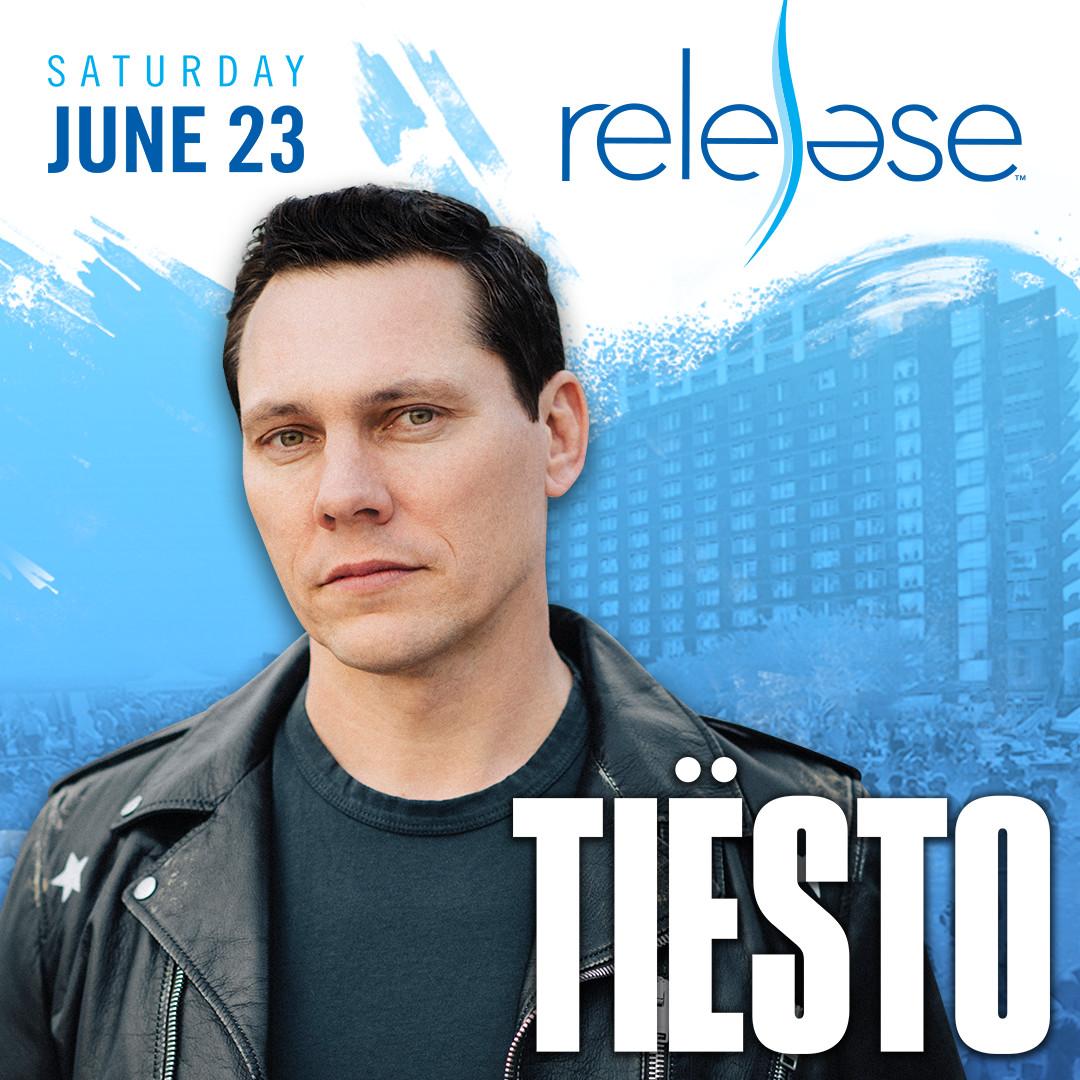 Flyer for Tiesto