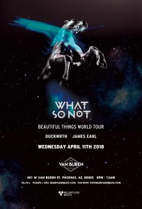 What So Not on 04/11/18