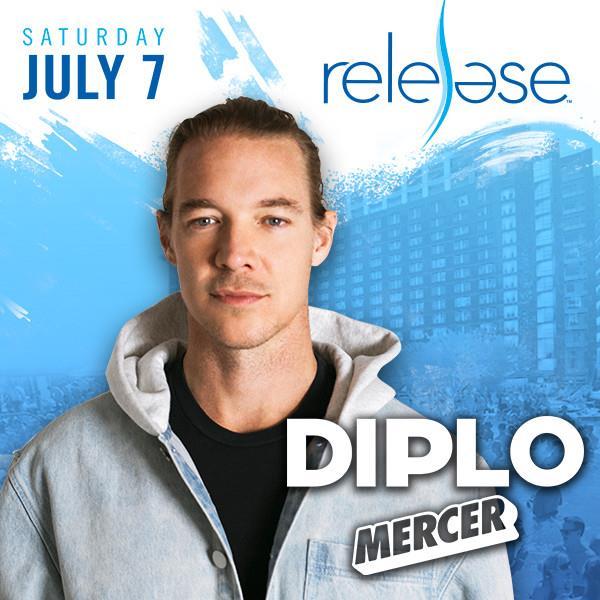 Flyer for Diplo + Mercer