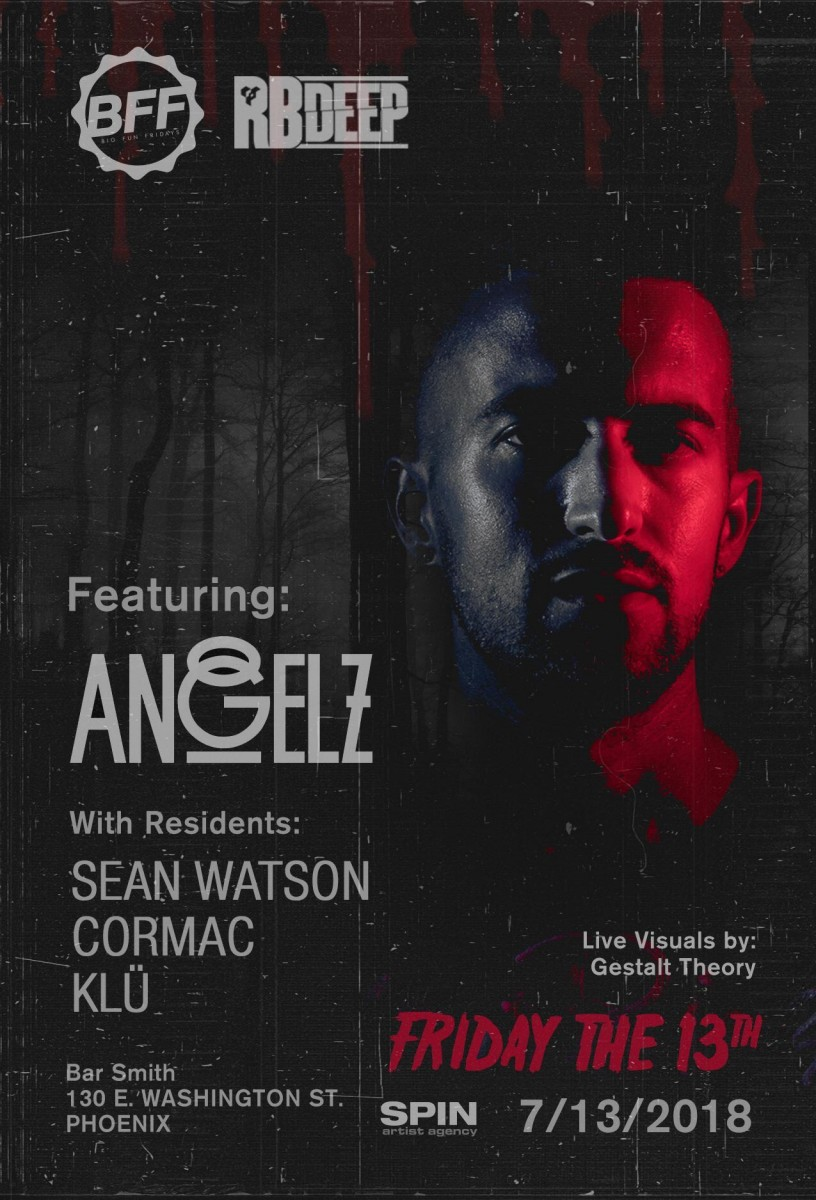 Flyer for Angelz