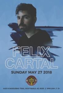 Felix Cartal on 05/27/18