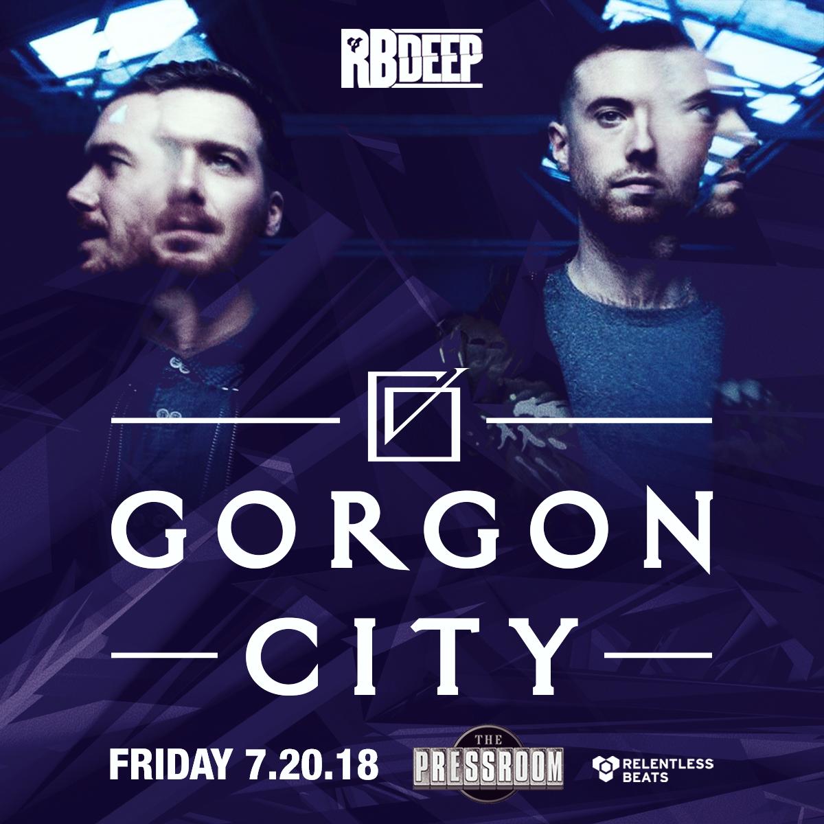 Flyer for Gorgon City