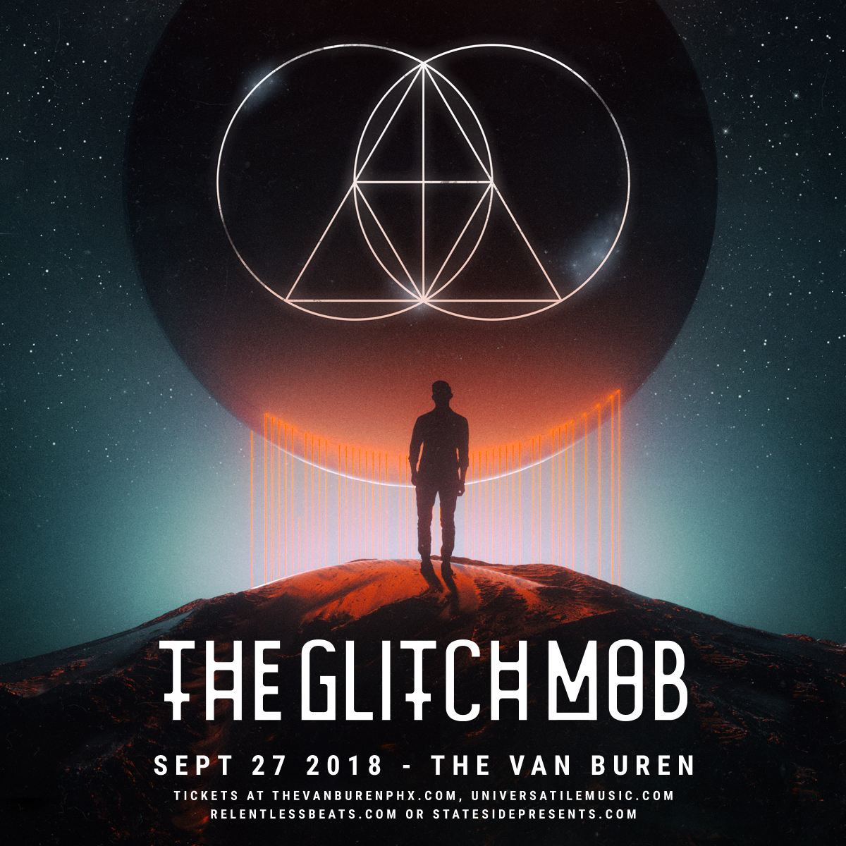 Flyer for The Glitch Mob