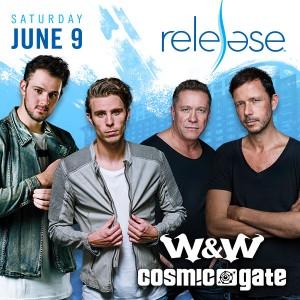 W&W + Cosmic Gate on 06/09/18
