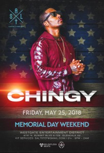 Chingy on 05/25/18