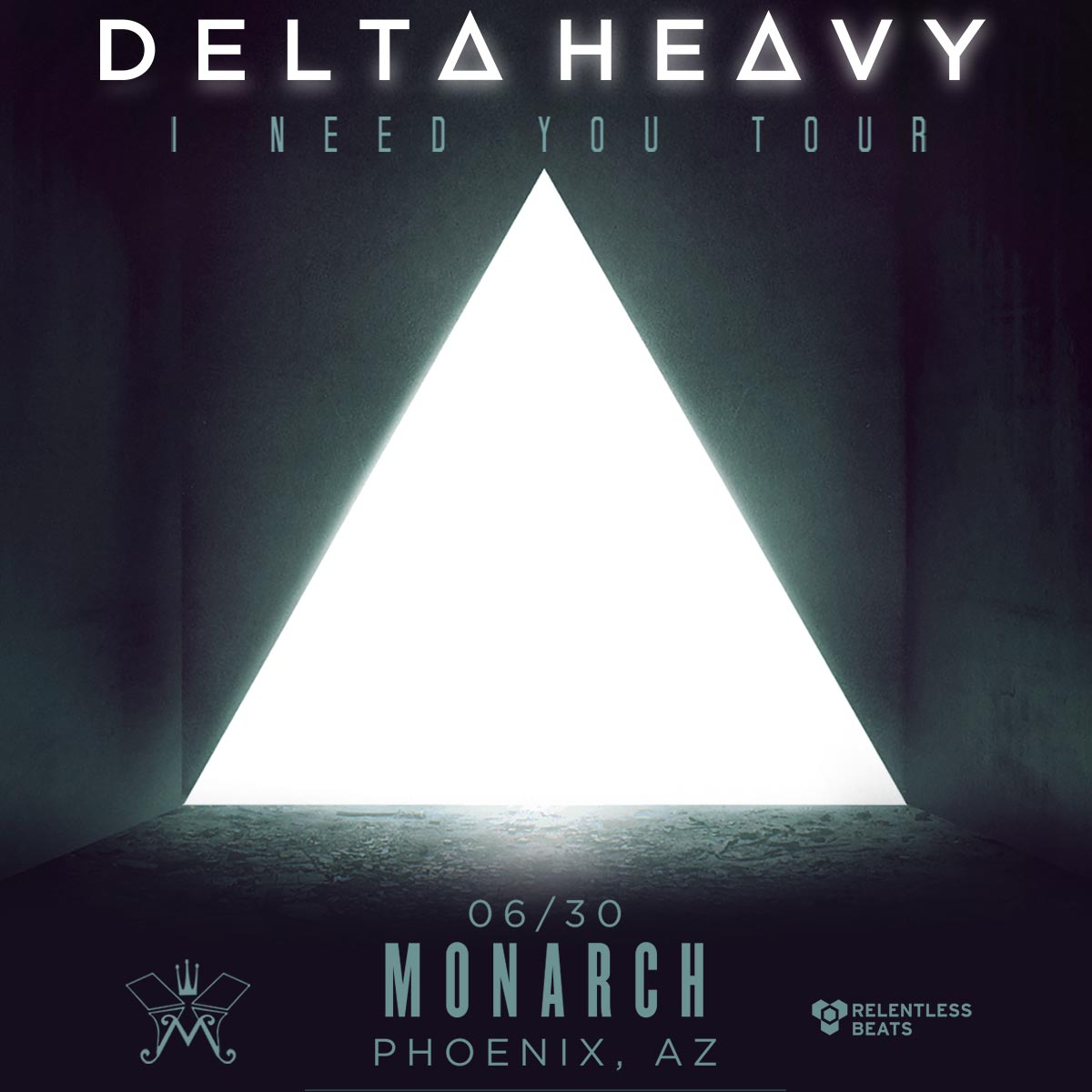 Flyer for Delta Heavy