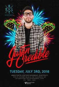 Justin Credible on 07/03/18