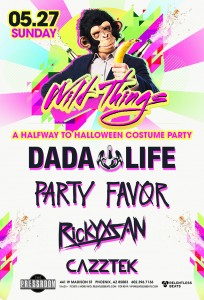 Dada Life, Party Favor, Rickyxsan & Cazztek on 05/27/18