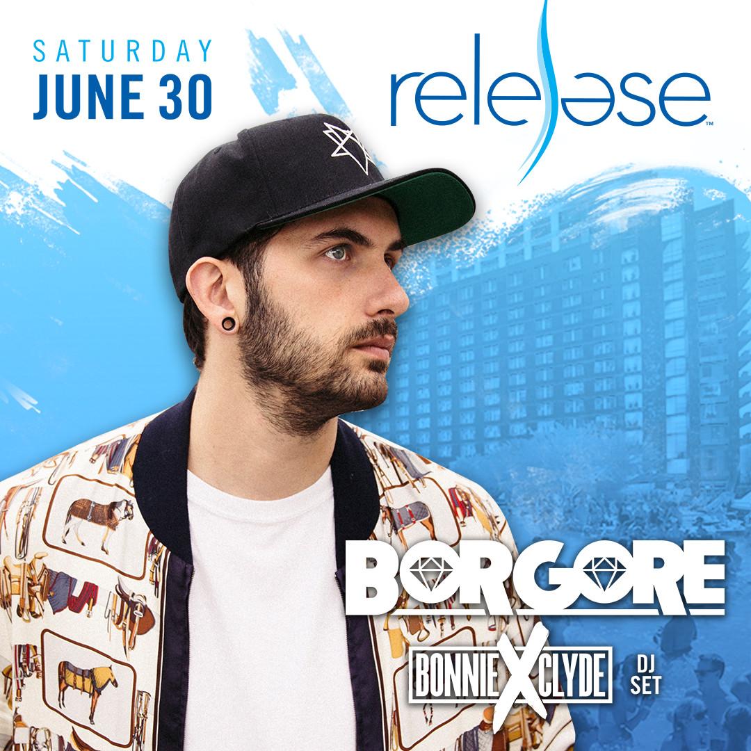 Flyer for Borgore + Bonnie x Clyde (DJ Set)