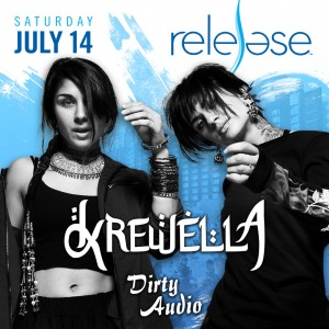 Krewella + Dirty Audio on 07/14/18