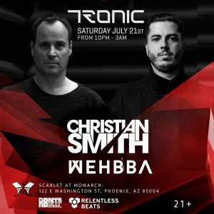 Christian Smith + Wehbba on 07/21/18