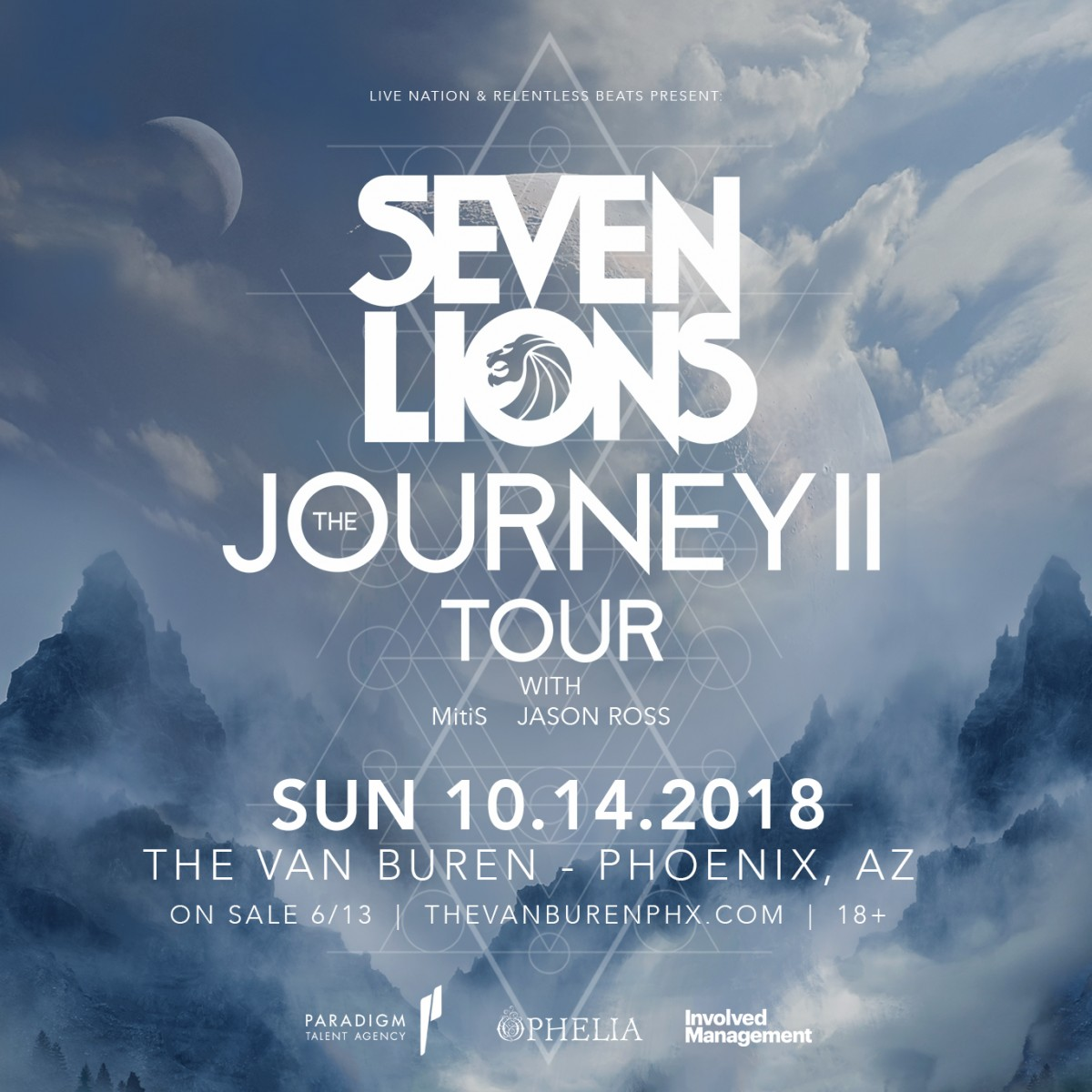 Flyer for Seven Lions
