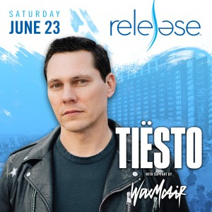 Tiesto + Wax Motif on 06/23/18