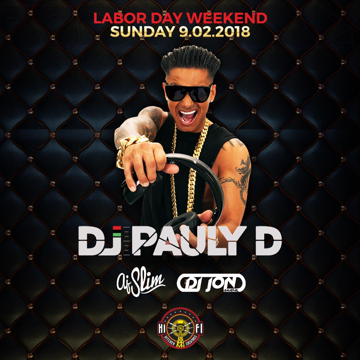 Flyer for Pauly D