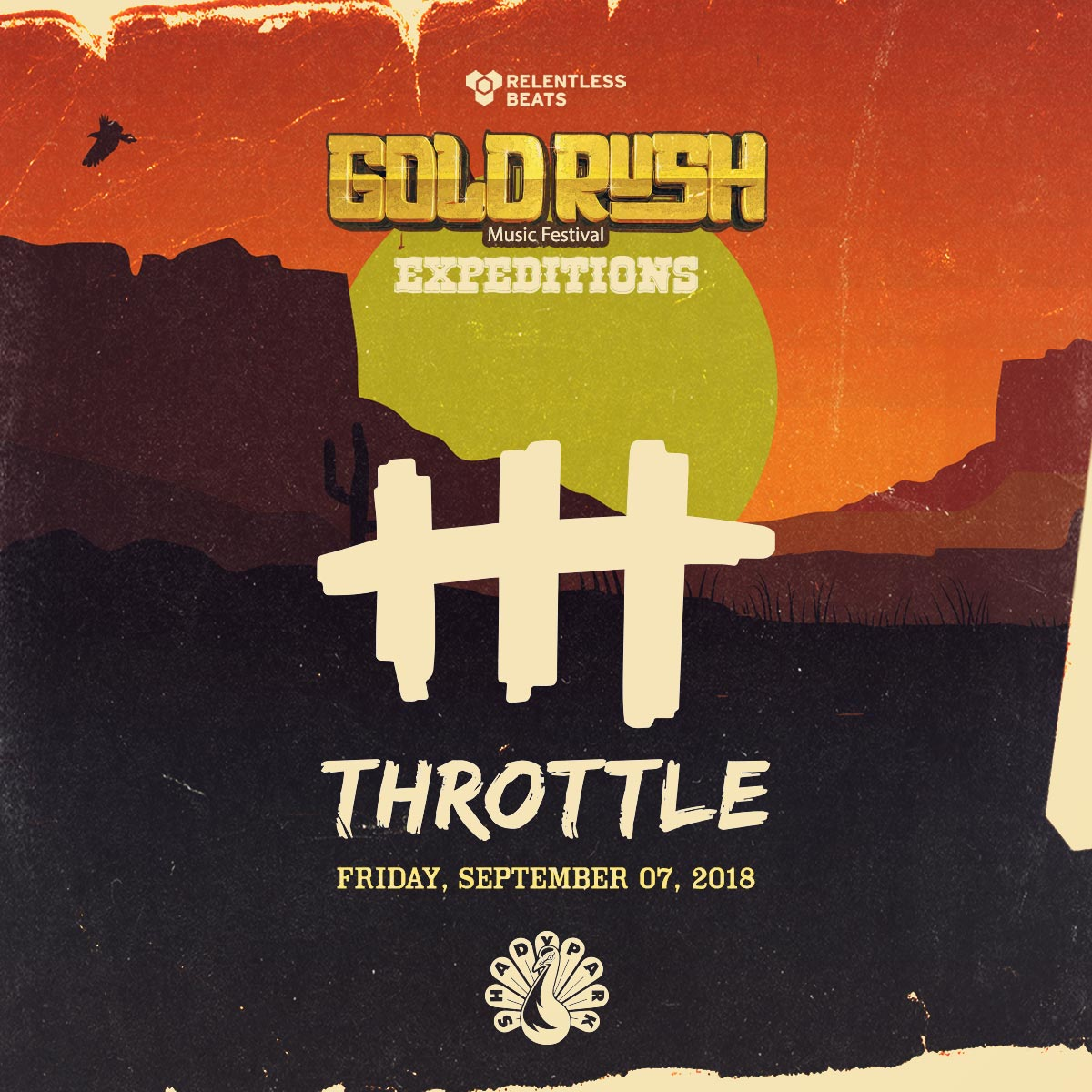 Flyer for Throttle - Goldrush Expeditions