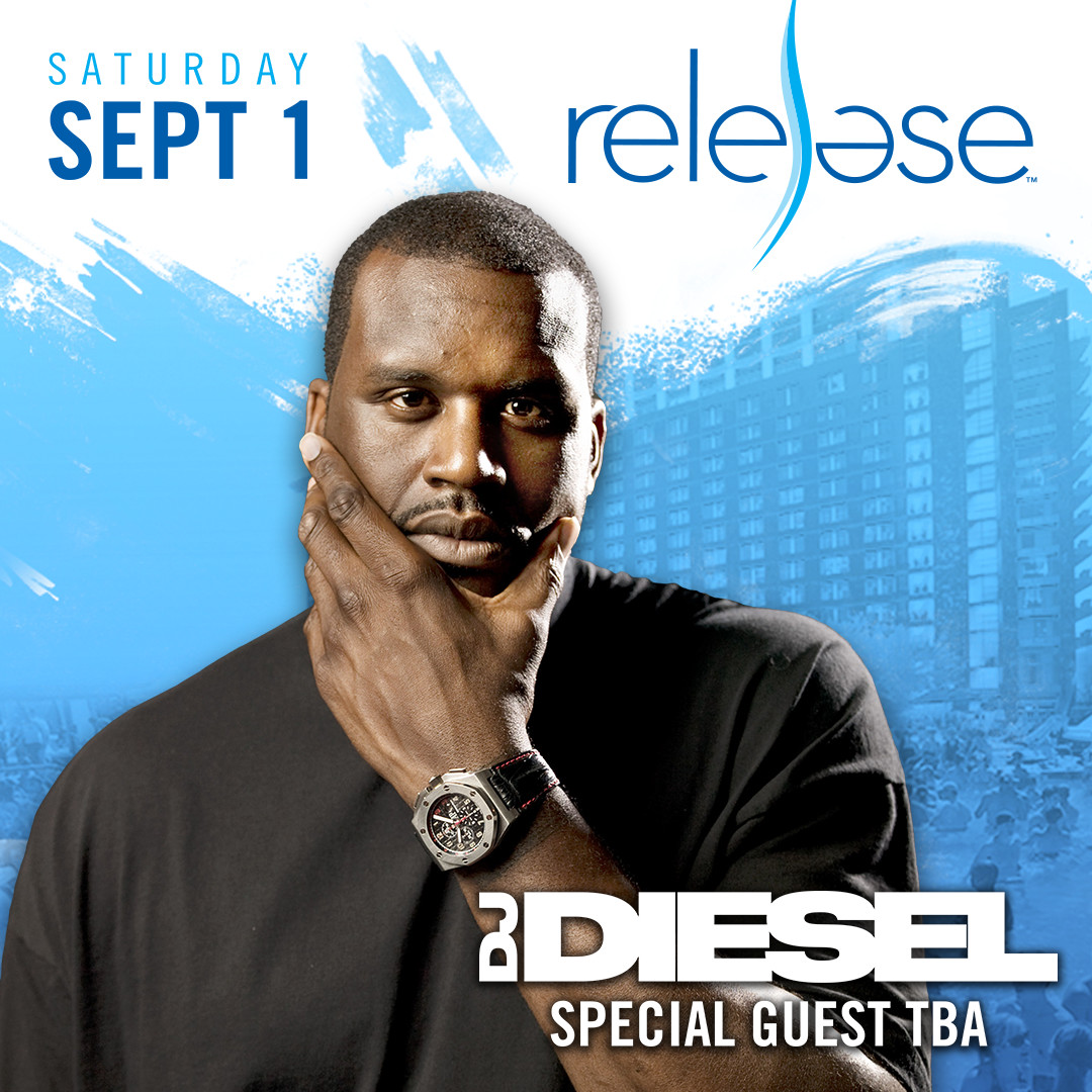 Flyer for DJ Diesel aka Shaq