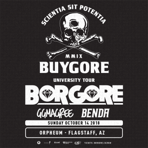 Borgore  – Flagstaff on 10/14/18