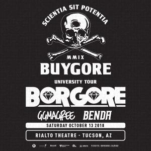 Borgore – Tucson on 10/13/18