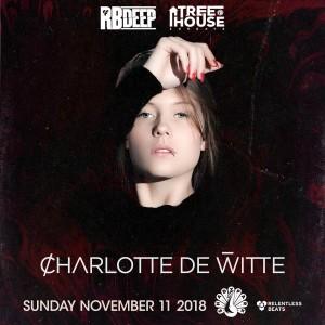 Charlotte de Witte on 11/11/18