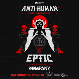 Eptic + Kompany on 09/01/18