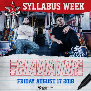 Gladiator on 08/17/18