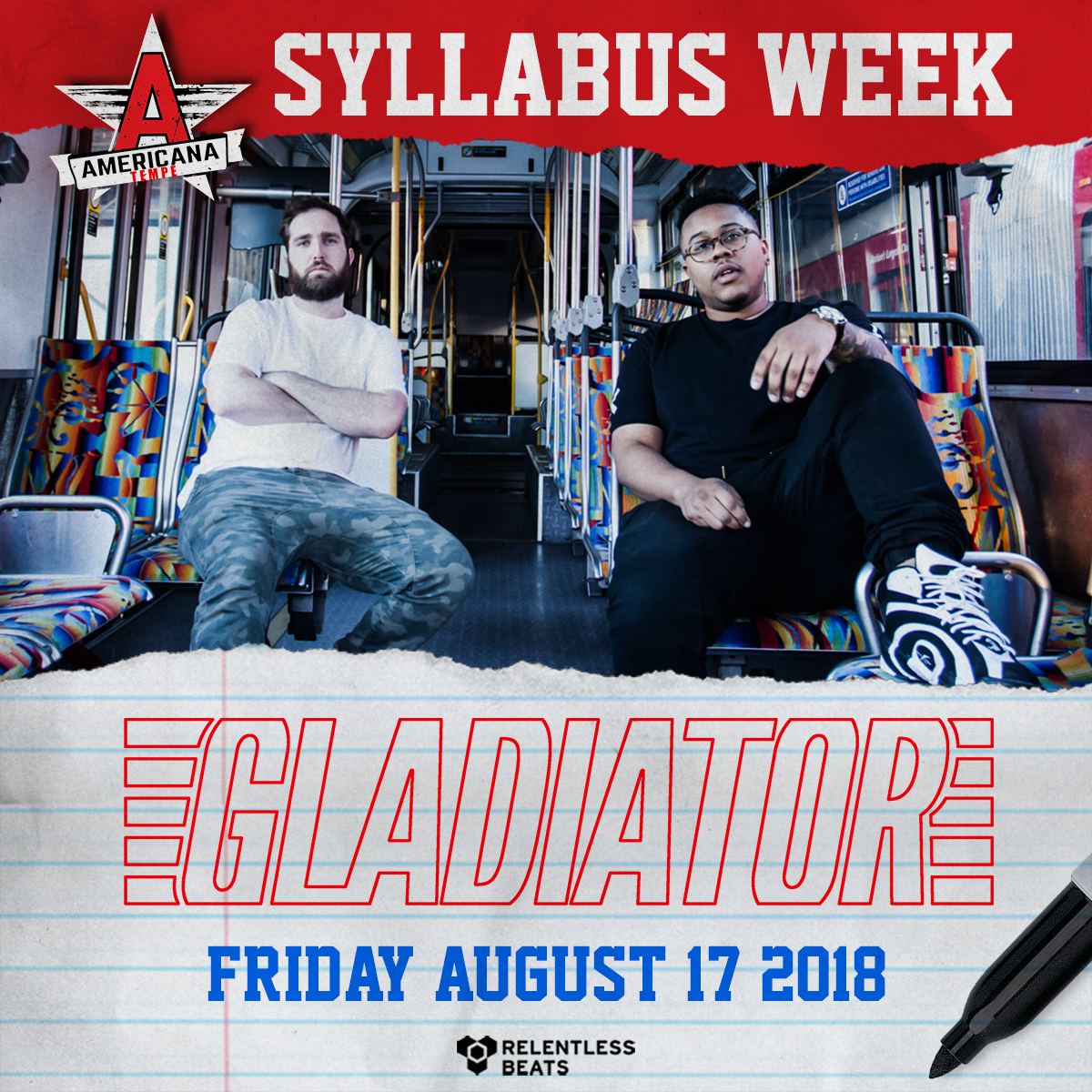 Flyer for Gladiator