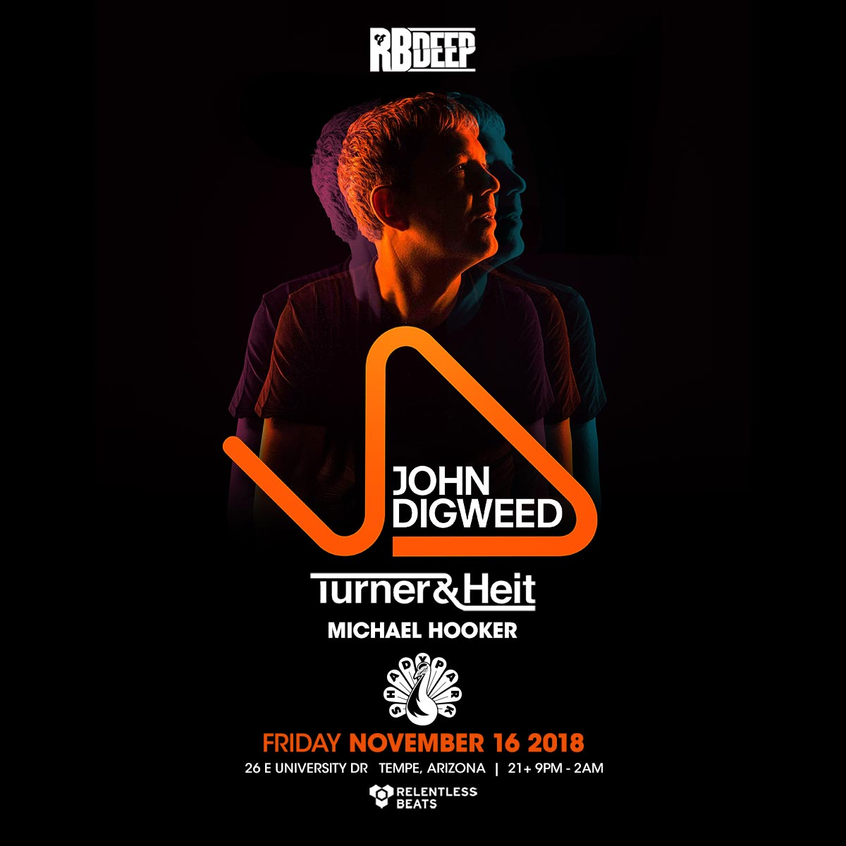Flyer for John Digweed